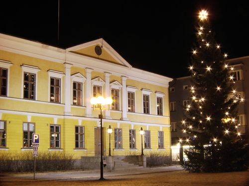 City hall of Kokkola, Finland