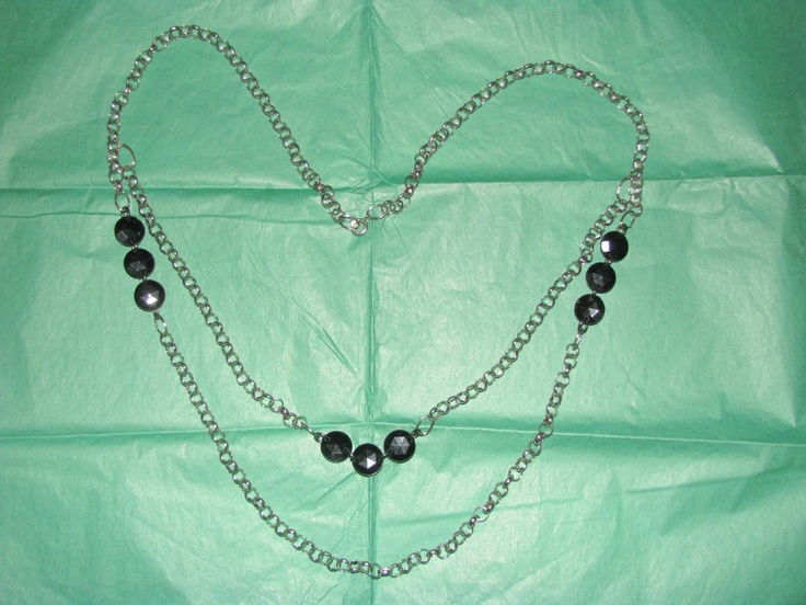 Double Strand Silver Necklace    https://www.facebook.com/photo.php?fbid=542851382415105=pb.534531073247136.-2207520000.1362761835=3