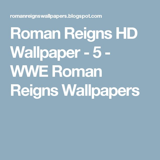 Roman Reigns HD Wallpaper - 5 - WWE Roman Reigns Wallpapers