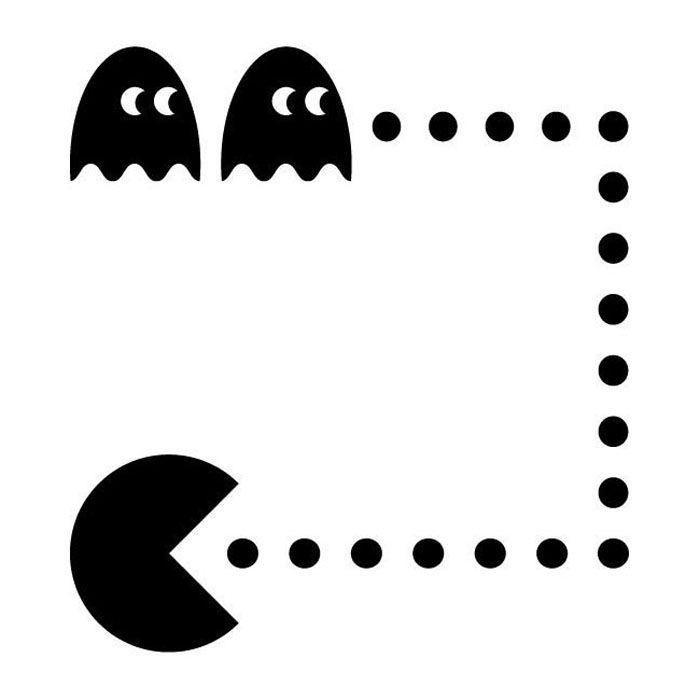 Silhouette Pacman Sticker_A_SS-1.jpg 700×700 pixels