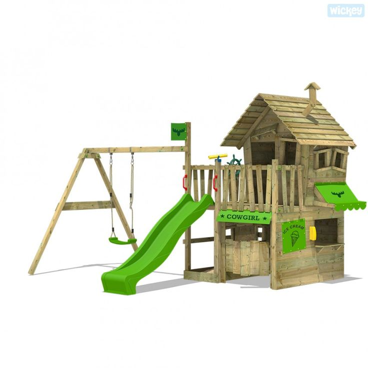 Parco giochi Fatmoose CountryCow Maxi altalene | Wickey.it