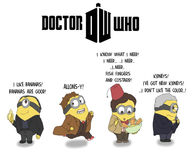 Doctor Who Minions by FeralSonic.deviantart.com on @DeviantArt