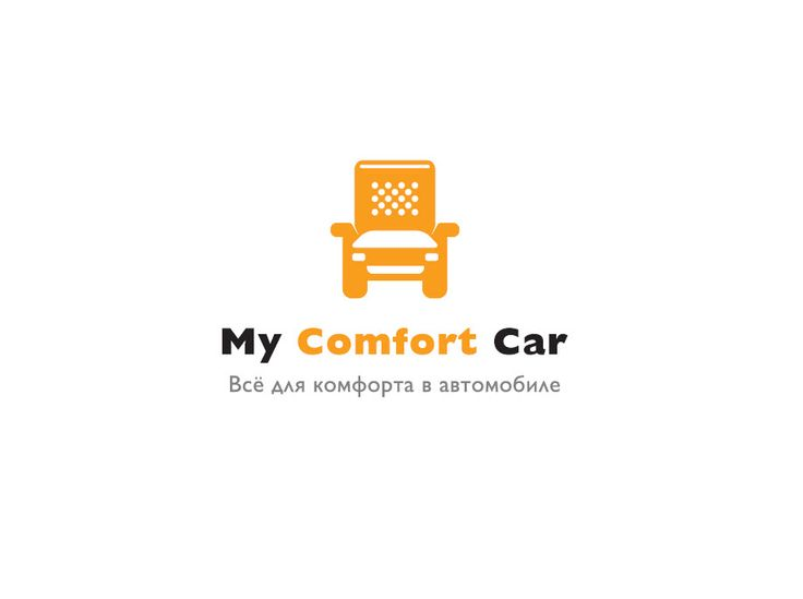"""""""My Comfort Car"""" logo design.  By """"We Are Design"""""""