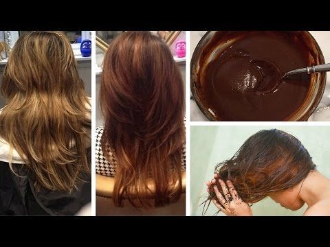 How to Dye Your Hair Naturally (with coffee) - A Must Watch Video