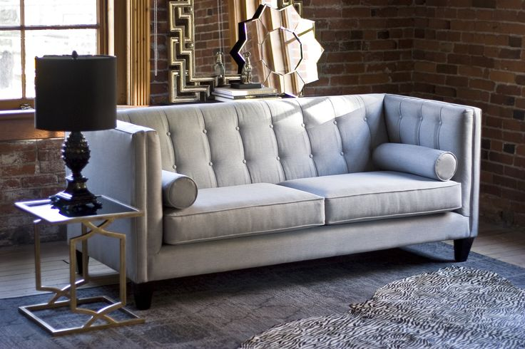 Super sleek and modern is our Dominic sofa since the launch of this style it has become very popular. Especially among designers.  http://www.portfoliointeriors.ca/