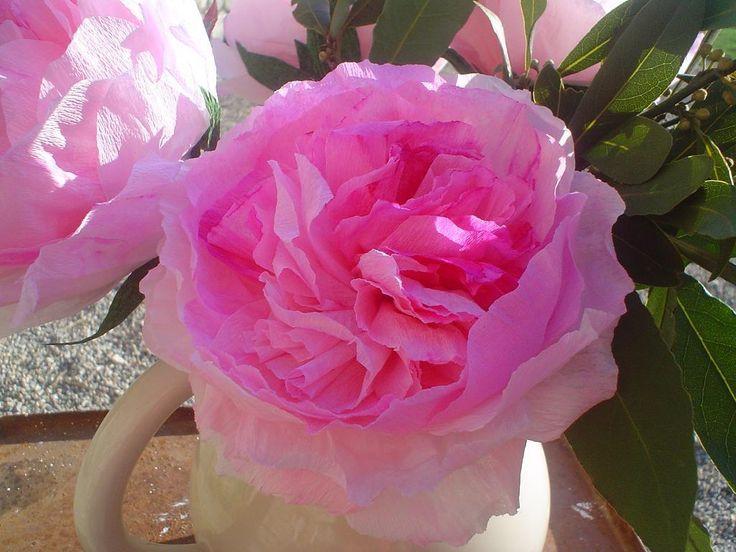 Papieren rozen maken voor de romantische hobbyist. Ben je romantisch, hou je van rozen, dan is dit zeker iets voor jou.