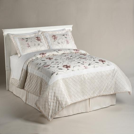 109 Jaclyn Smith Tranquility Bedding Collection Bed