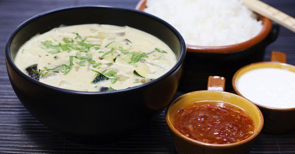 En currygryta med mycket smak som går snabbt och lätt att laga.