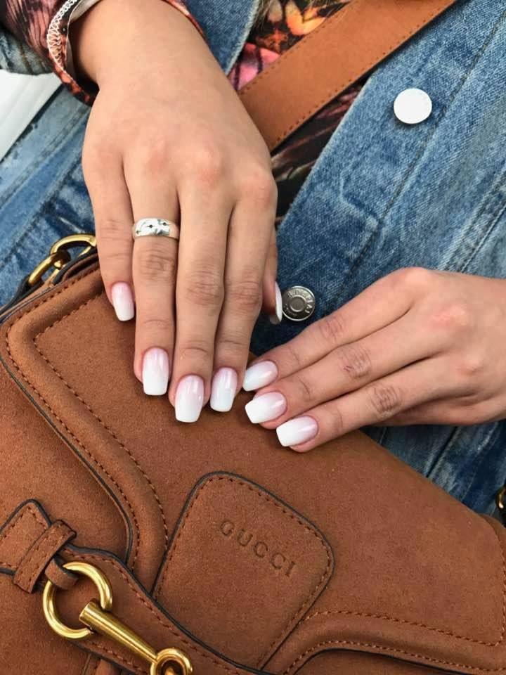 Babyboomer by Indigo Educator Monika Cis #nails #nail #nailsart #indigonails #indigo #hotnails #summernails #springnails  #omgnails #amazingnails #ombrenails #ombre #babyboomer #natural