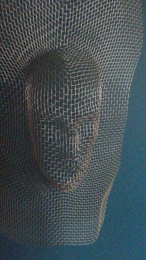 Mini wire sculpture. Barcelona. Sagrada Familia.