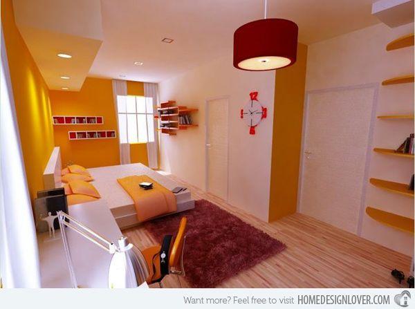 15 Zesty Yellow Bedroom Designs minimalist yellow bedroom