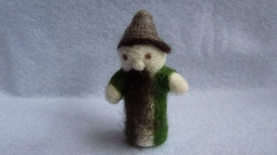 woodland gnome by WoodlandFeltCrafts on Etsy, €15.00