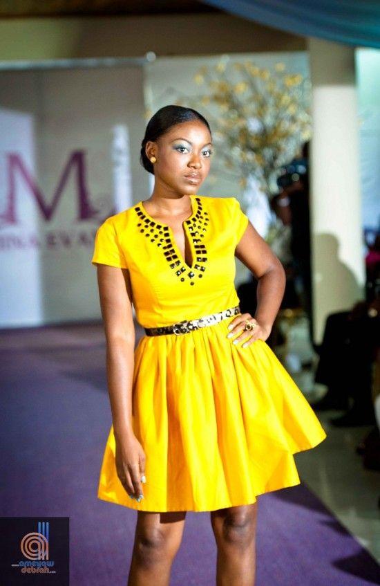 GhanaWeb. Mina Evans Fashion Collection Latest African Fashion, African Prints, African fashion styles, African clothing, Nigerian style, Ghanaian fashion, African women dresses, African Bags, African shoes, Nigerian fashion, Ankara, Aso okè, Kenté, brocade etc DK