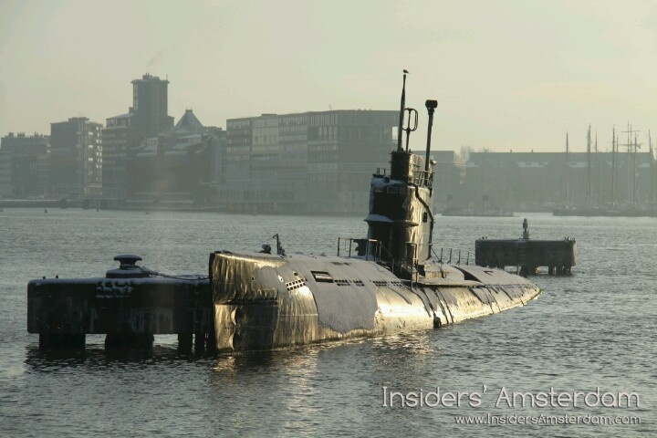 Submarine at NDSM Werf