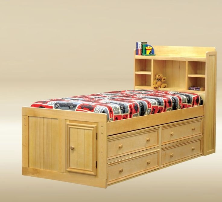 JAY 2105B Birch Wood Youth Kids Twin Captain Bed Storage Drawers - Best 25+ Twin Captains Bed Ideas On Pinterest Captains Bed, King