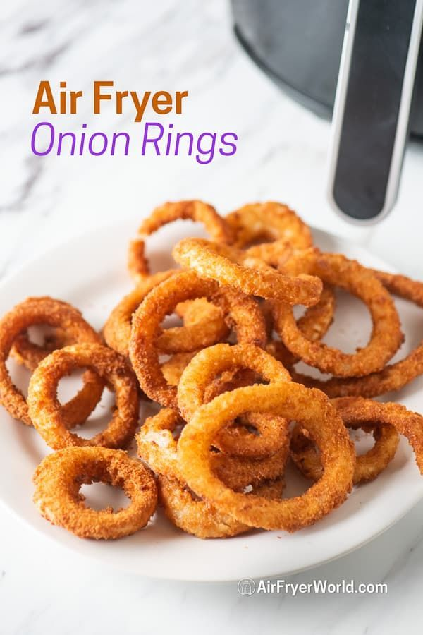 Air Fryer Frozen Onion Rings Recipe In 2020 With Images