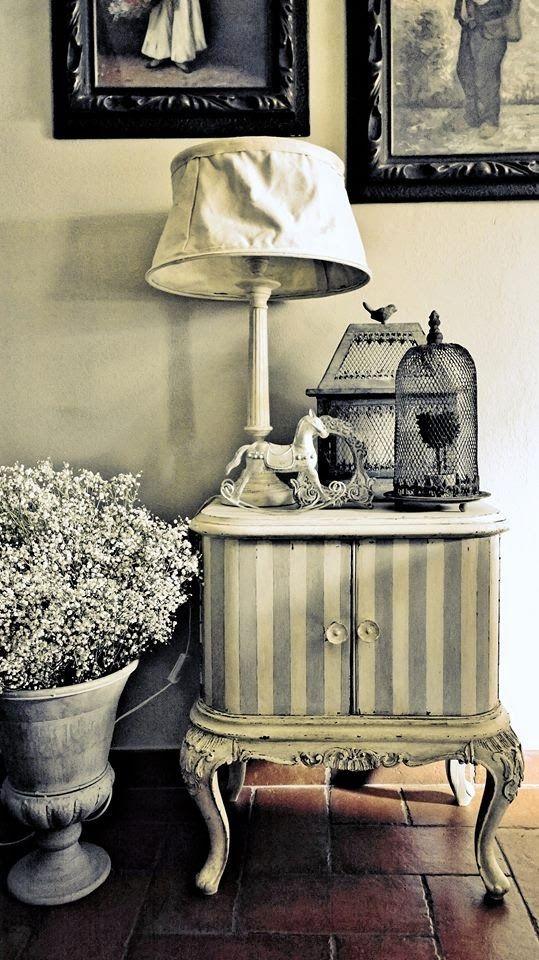 passione shabby: Il restauro dei comodini chippendale prima e dopo!