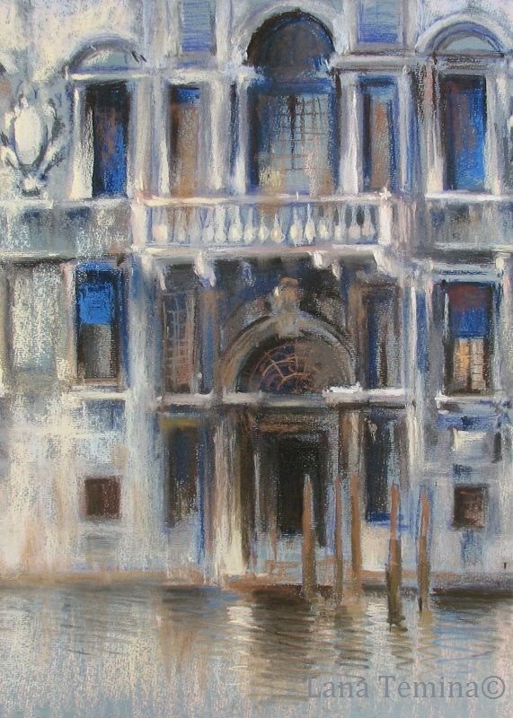 #venice #watercolor #pastel #painting #art #картины #венеция #акварель #пейзаж #живопись #пастель #художник