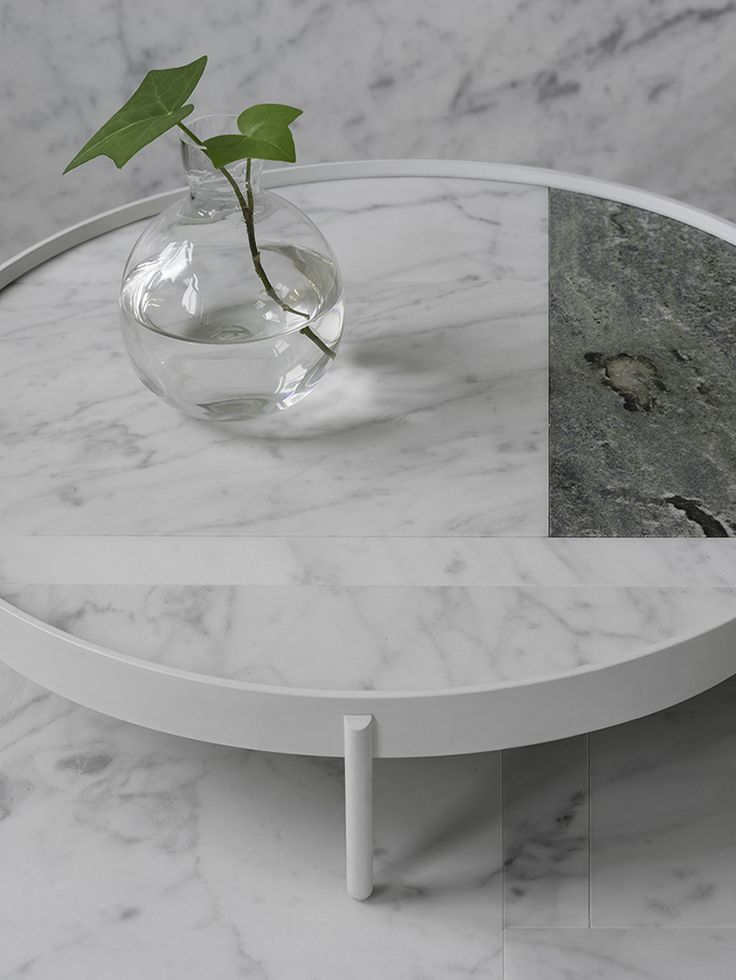 PATCH Marble Tables for Menu (Dk) in collaboration with Norm Architects - News 2015