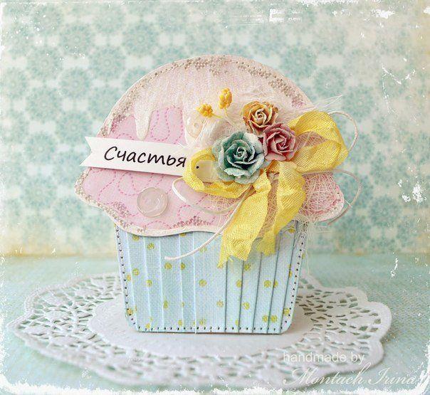Торт открытка скрапбукинг