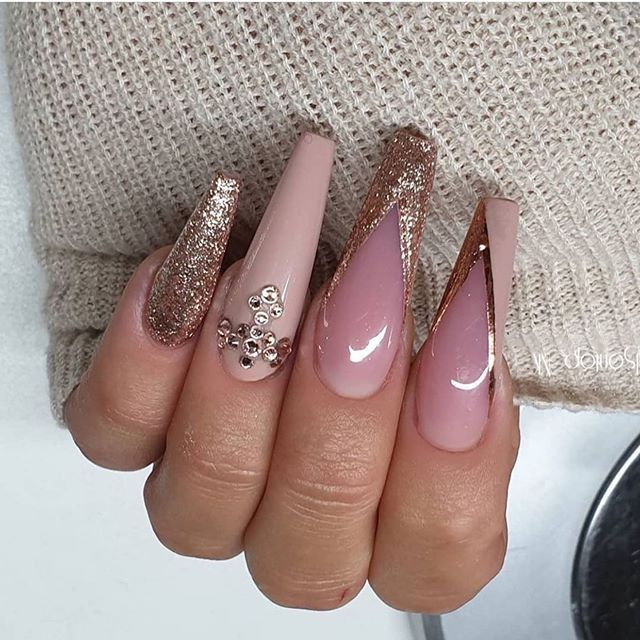 22 Pretty Mismatched Nail Trends For 2020 Nail Art Designs Nail