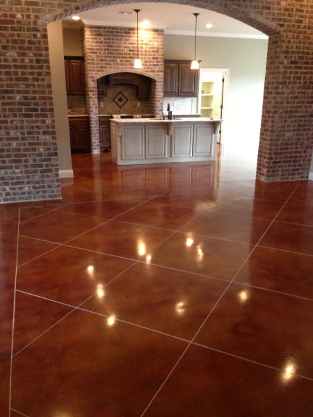 Stained Concrete, Lafayette LA