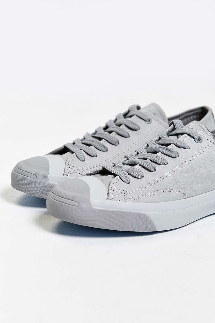 Converse Jack Purcell Nubuck Low: Grey