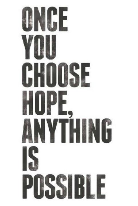 Hope! Gotta love it