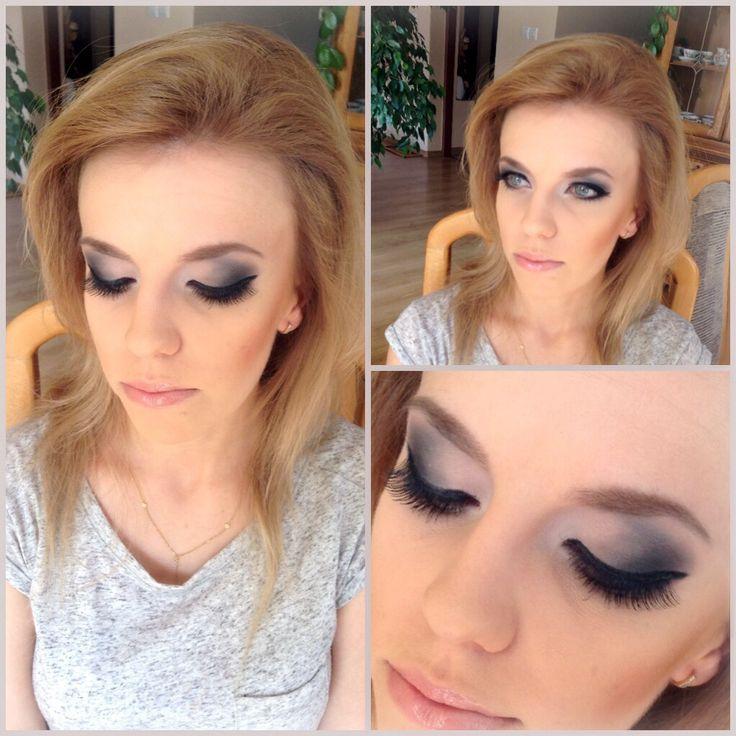 MW makeup, imprezowo i matowo