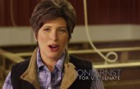 Joni Ernst, a candidate running for Democratic United States Senator Tom Harkin's seat in Iowa's Senate, released a campaign advertisement this week bragging about how great she is wielding a knife when castrating hogs. IF YOU LIVE IN IOWA, PLEASE DO WHATEVER YOU CAN TO SEE THAT THIS MONSTER IS NOT ELECTED.