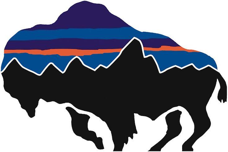 Bison Patagonia Stickers【2019】 パタゴニア