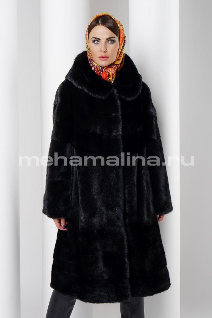 Шуба из норки mehamalina.ru тел: +7 (800) 777-81-96