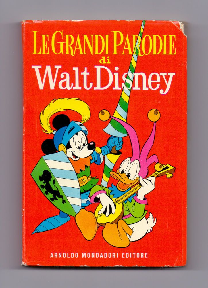 CWD 1^ serie - LE GRANDI PARODIE DI WALT DISNEY - 1959 - Incredibile!!!!!!