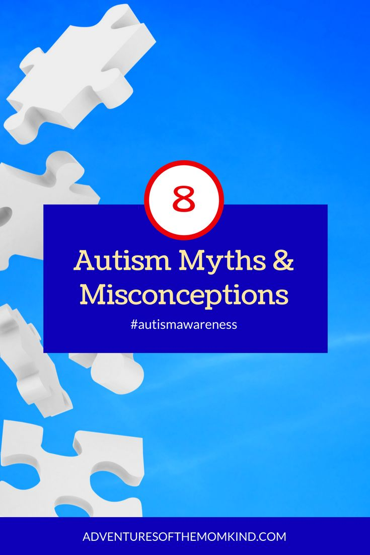 8 common autism myths and misconceptions