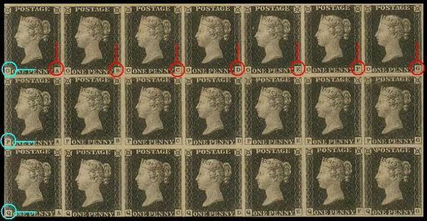 El denominado Penny Black o Penique Negro fue el primer sello postal de la historia, emitido por el Reino Unido el 1 de mayo de 1840 y válido para uso postal desde el 6 de mayo por iniciativa de Rowland Hill tras la reforma del sistema postal británico destinado a hacer pagar al remitente según el peso del envío, y no al destinatario y según la distancia como hasta entonces.