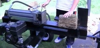 How to build a Homemade 2 way Log Splitter from Start to finish – Step by step Build Series