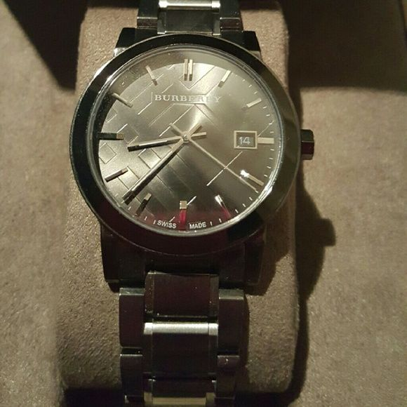 Burberry Men's Watch It was just opened from the package but never worn Burberry Accessories Watches