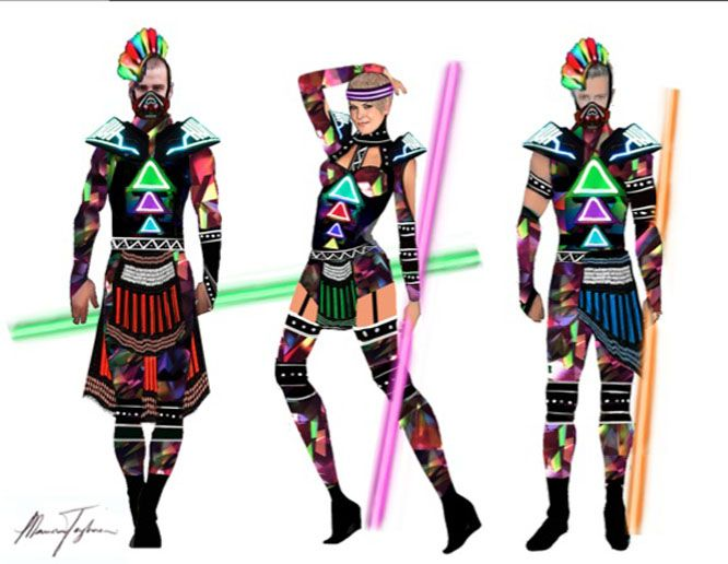 marina+katy+perry+prism+costume | Katy Perry's Tour Costume Designer Dishes on 'Prismatic' Concert ...