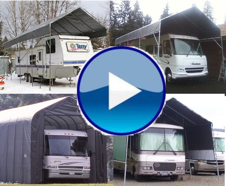 Rv Carport Kits Do It Yourself : All weather shield portable carport shelter kits