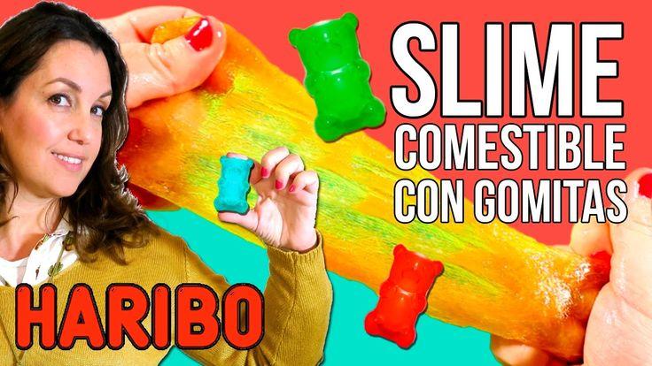 Cómo hacer SLIME COMESTIBLE con GOMITAS  Ositos de gominola Haribo * 2 ...