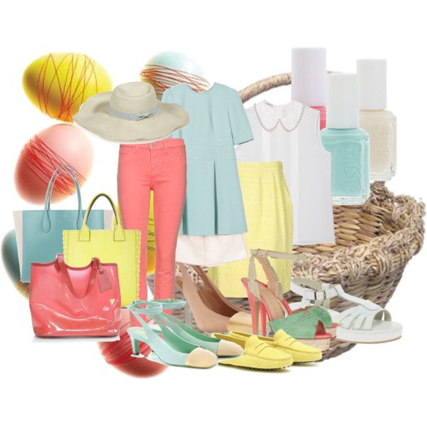Easter Sunday's best, created by kaitykellyandmegmickey on Polyvore