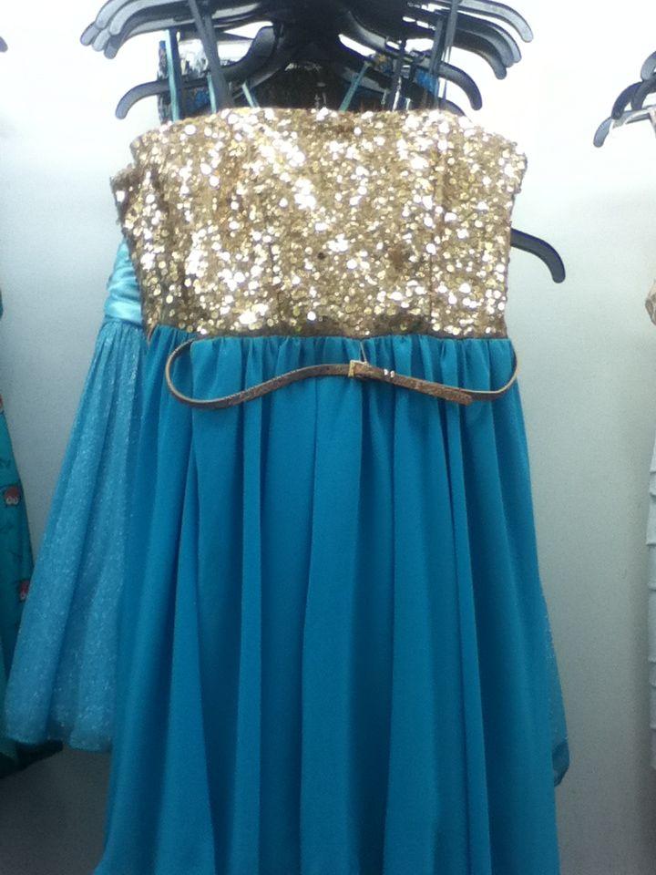 Gold and Teal dress from Gordmans - Dress - Pinterest - Teal ...