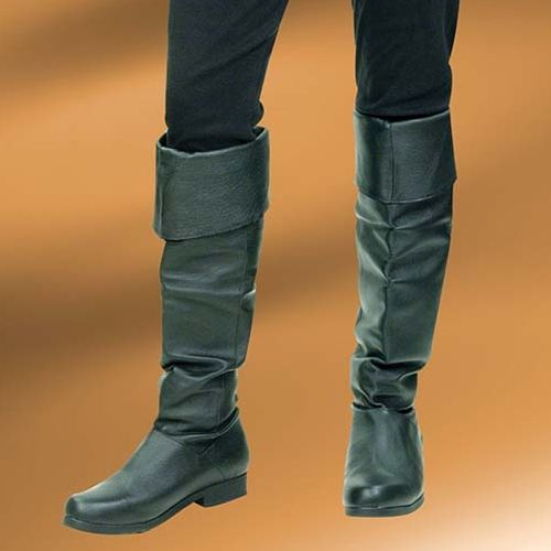 Ideal for our Mary Read #pirate ensemble, or any pirate costume, these tall #leather #boots are comfortable with a secure rubber sole. And don't feel you have to save them for special occasions and events - they look just as great with leggings and jeans! http://www.pearsonsrenaissanceshoppe.com/ladies-pirate-boot.html