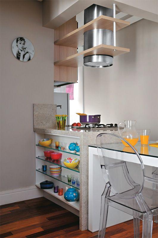 Apartamento pequeno: integração fez render os 43 m² - Casa