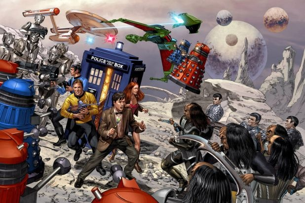Doctor Who and Star Trek. All the geek that's fit!