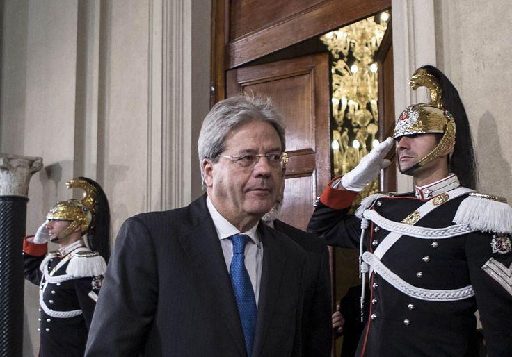 Quirinale - Paolo Gentiloni è il Presidente del Consiglio incaricato