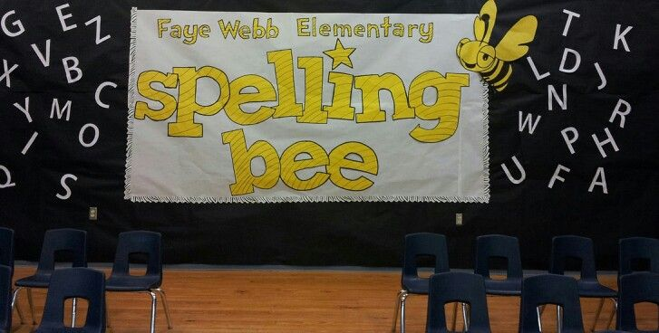 Spelling Bee decor
