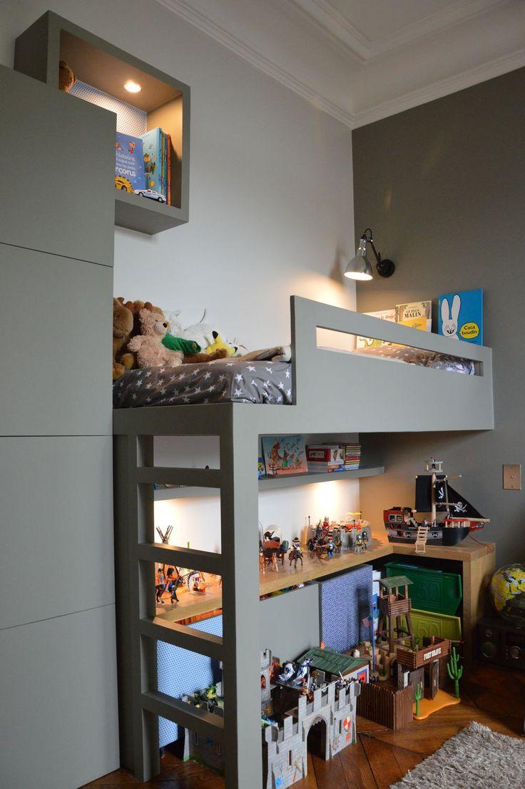 17 meilleures id es propos de chambre troite sur for Chambre enfant gauthier