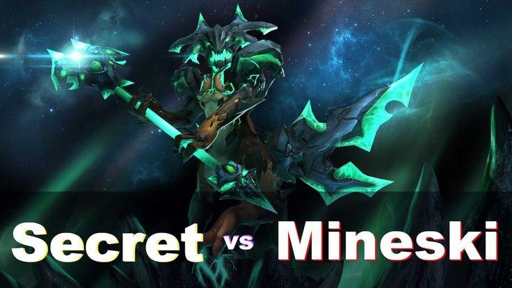 Mineski.Dota2 vs Team Secret - ROG MASTERS Dota 2 2016