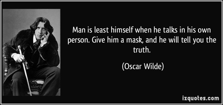 "Oscar Wilde was always saying things that made you go hmmm.  Often they have the effect of making you say, ""Oh yes, that is true. Wait. Is that true?"" One of his most famous aphorisms i…"